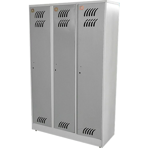 Metal cabinet case 3-section