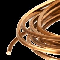 Square copper wire